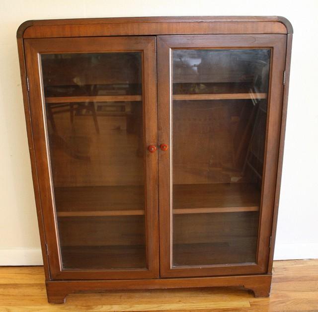 Glass Door Bookcase Target