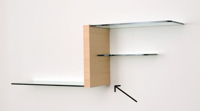 Glass Wall Shelves Floating