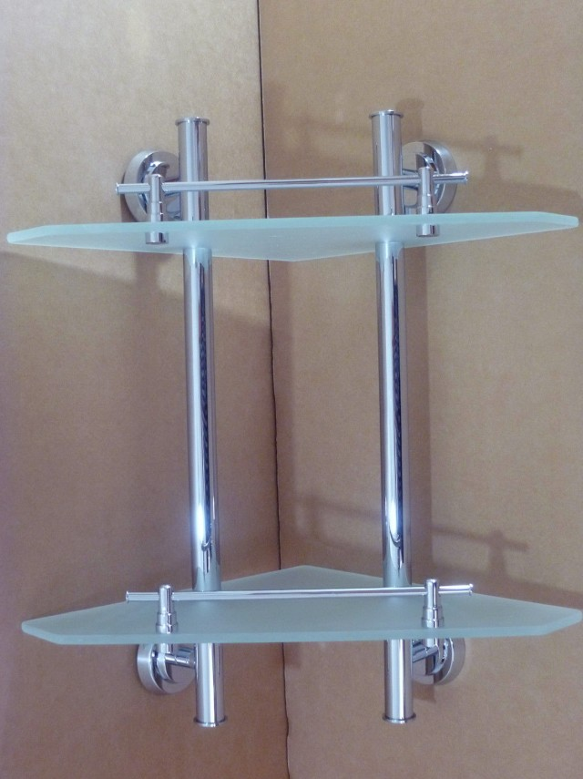 Glass Wall Shelves For Bathroom