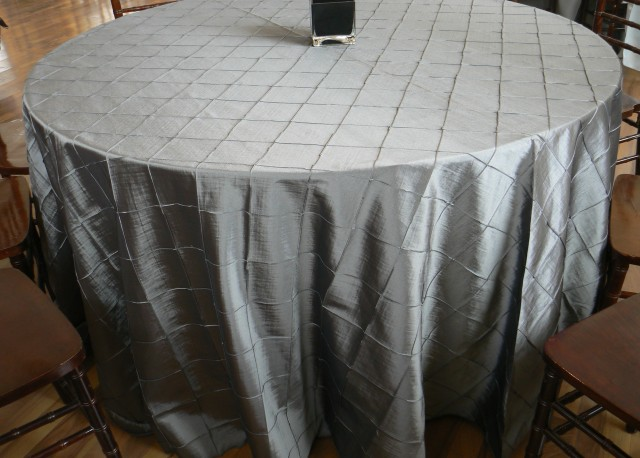Grey Linen Table Cloth