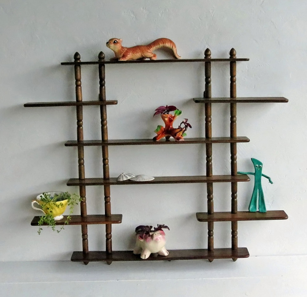 Hanging Wall Shelves Wood