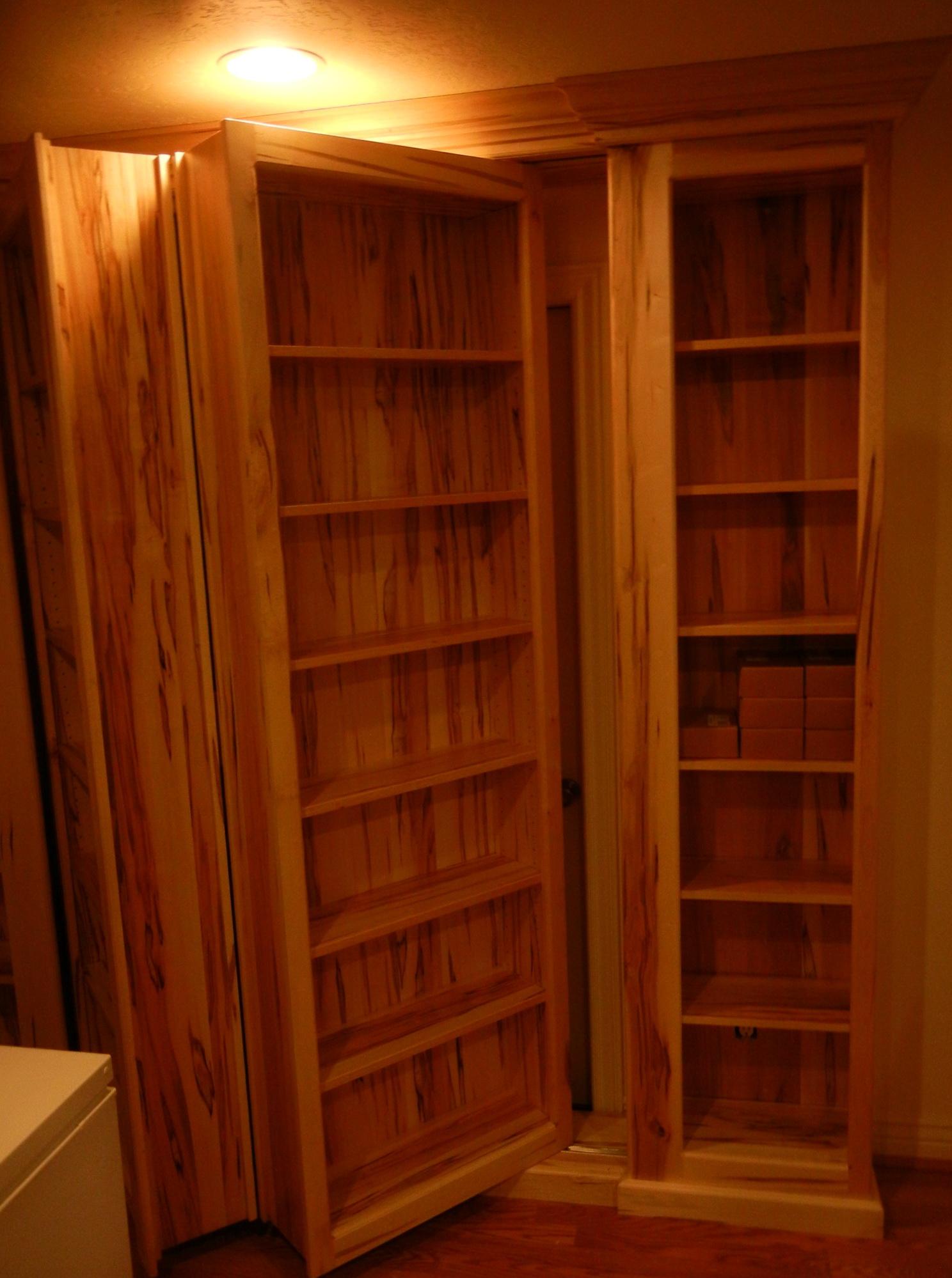 Hidden Bookcase Door Hardware