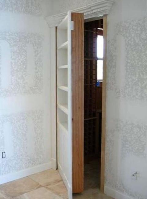 Hidden Bookcase Door Latch