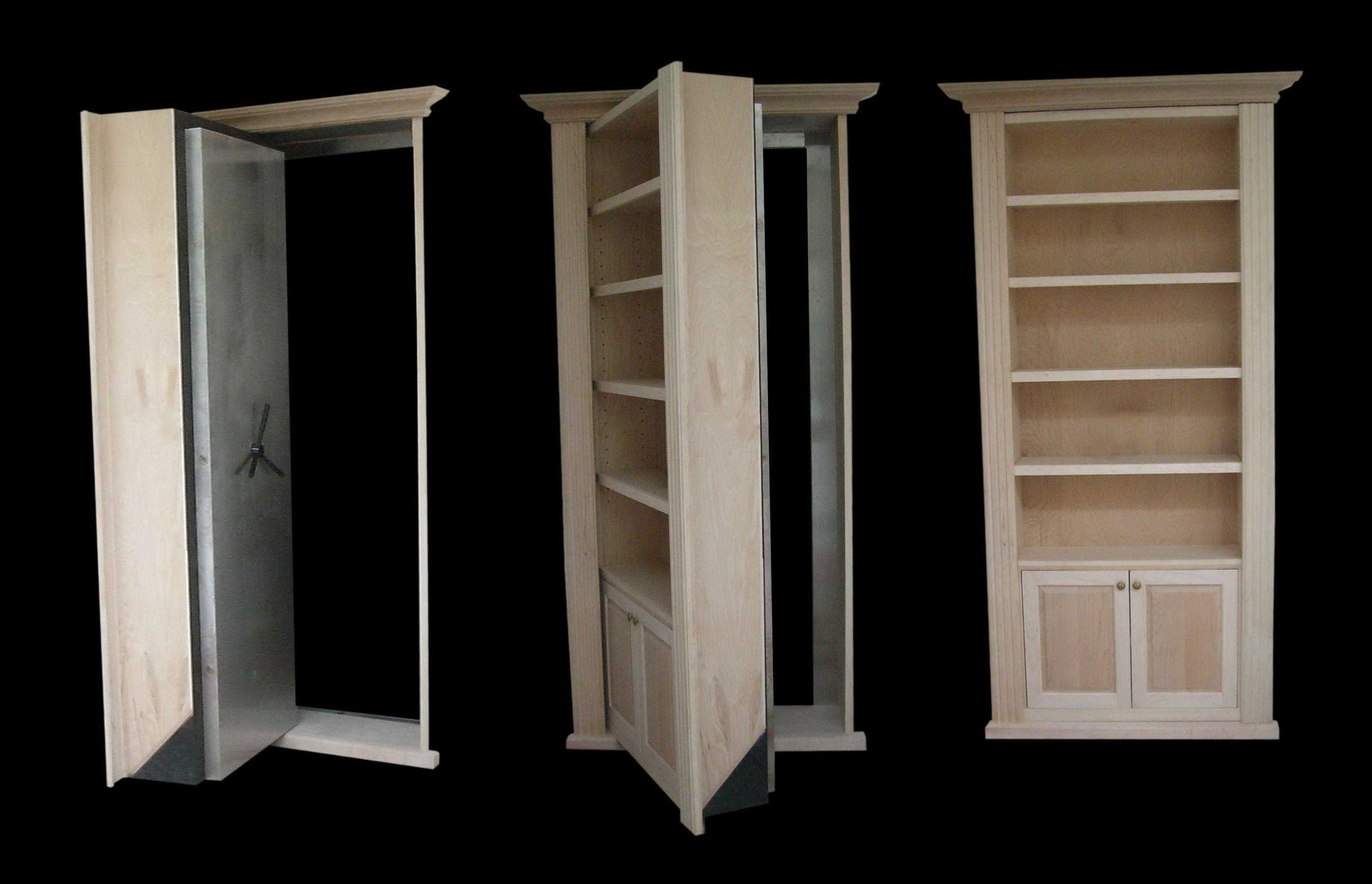 Hidden Door Bookcase Diy