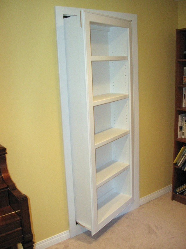 Hidden Door Bookcase For Sale