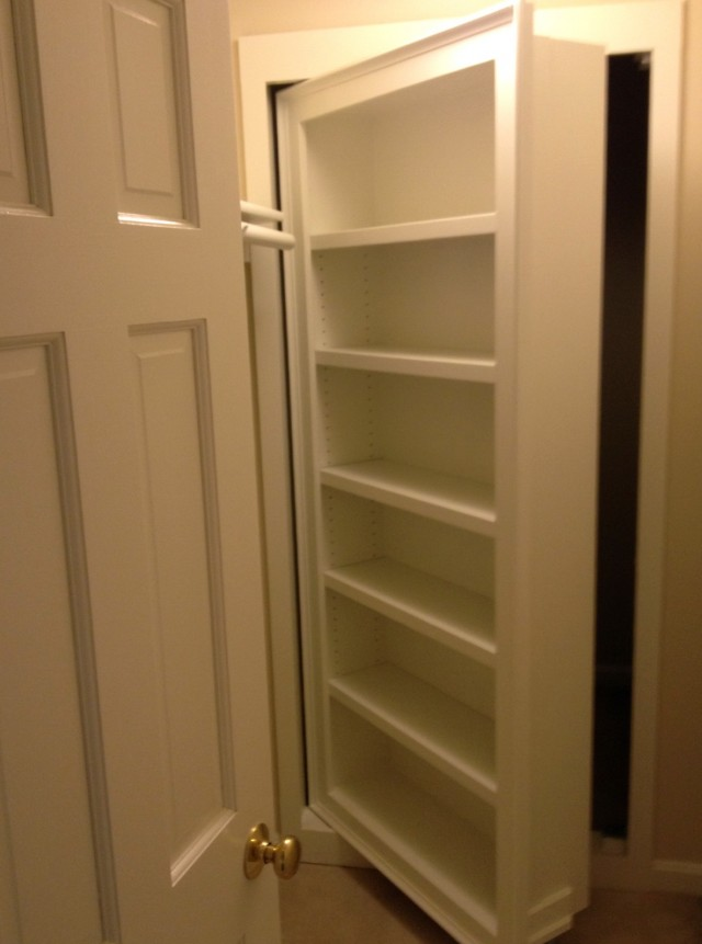 Hidden Door Bookcase Plans