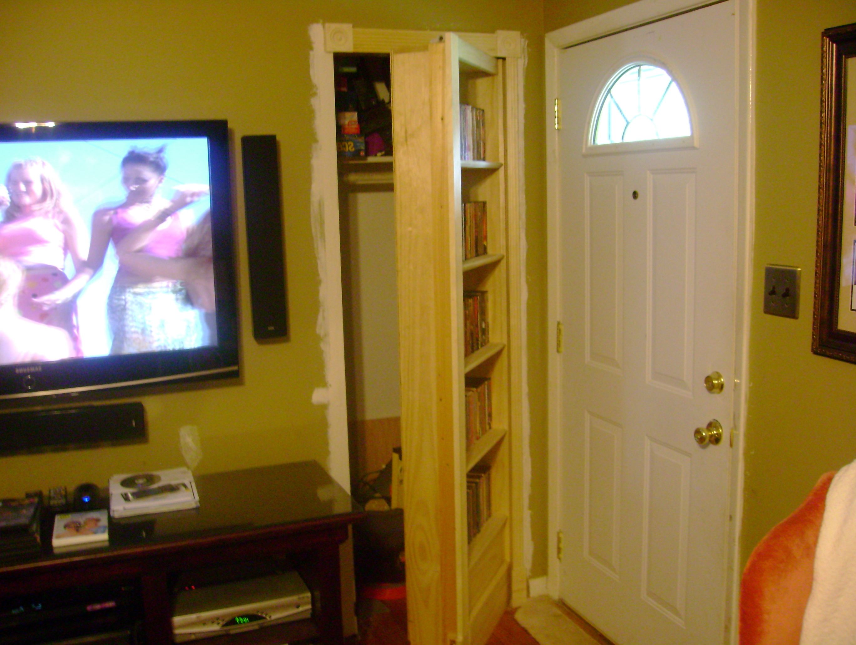 How To Build A Secret Bookcase Door
