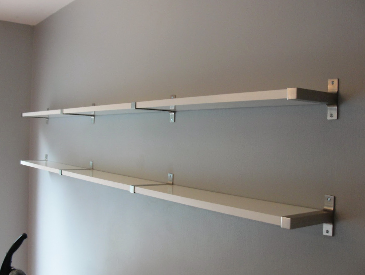How To Install Shelves On Wall