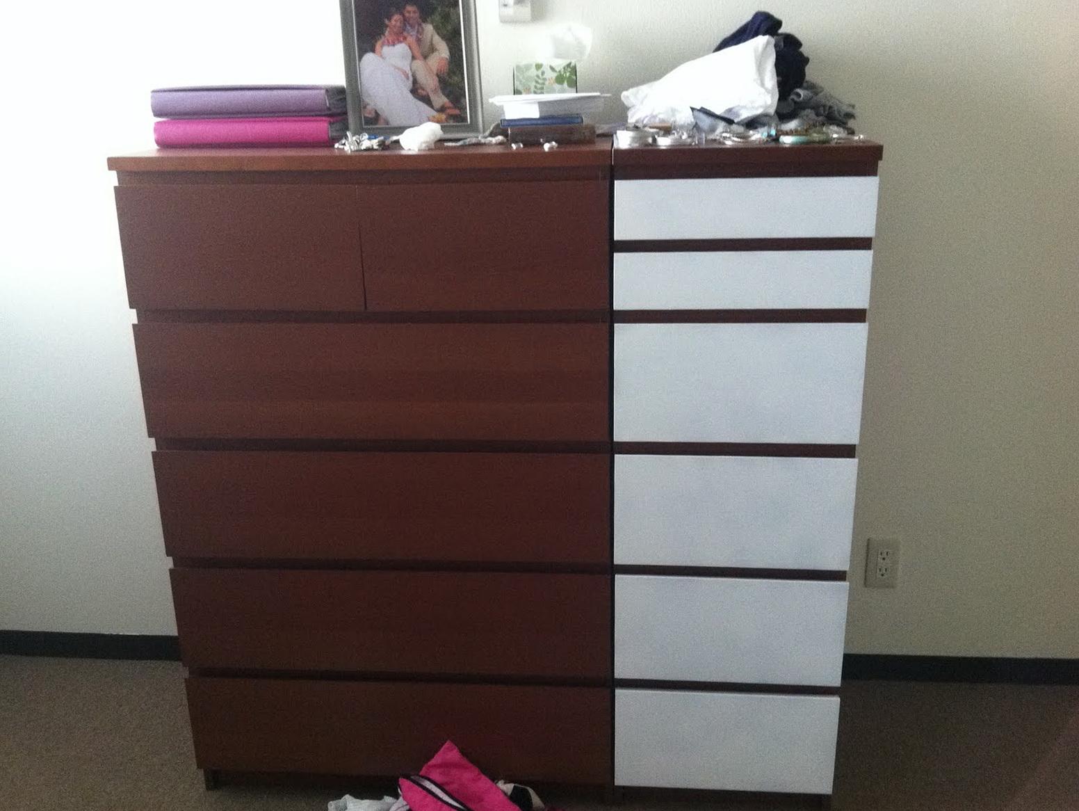 Ikea Hopen Dresser Hack