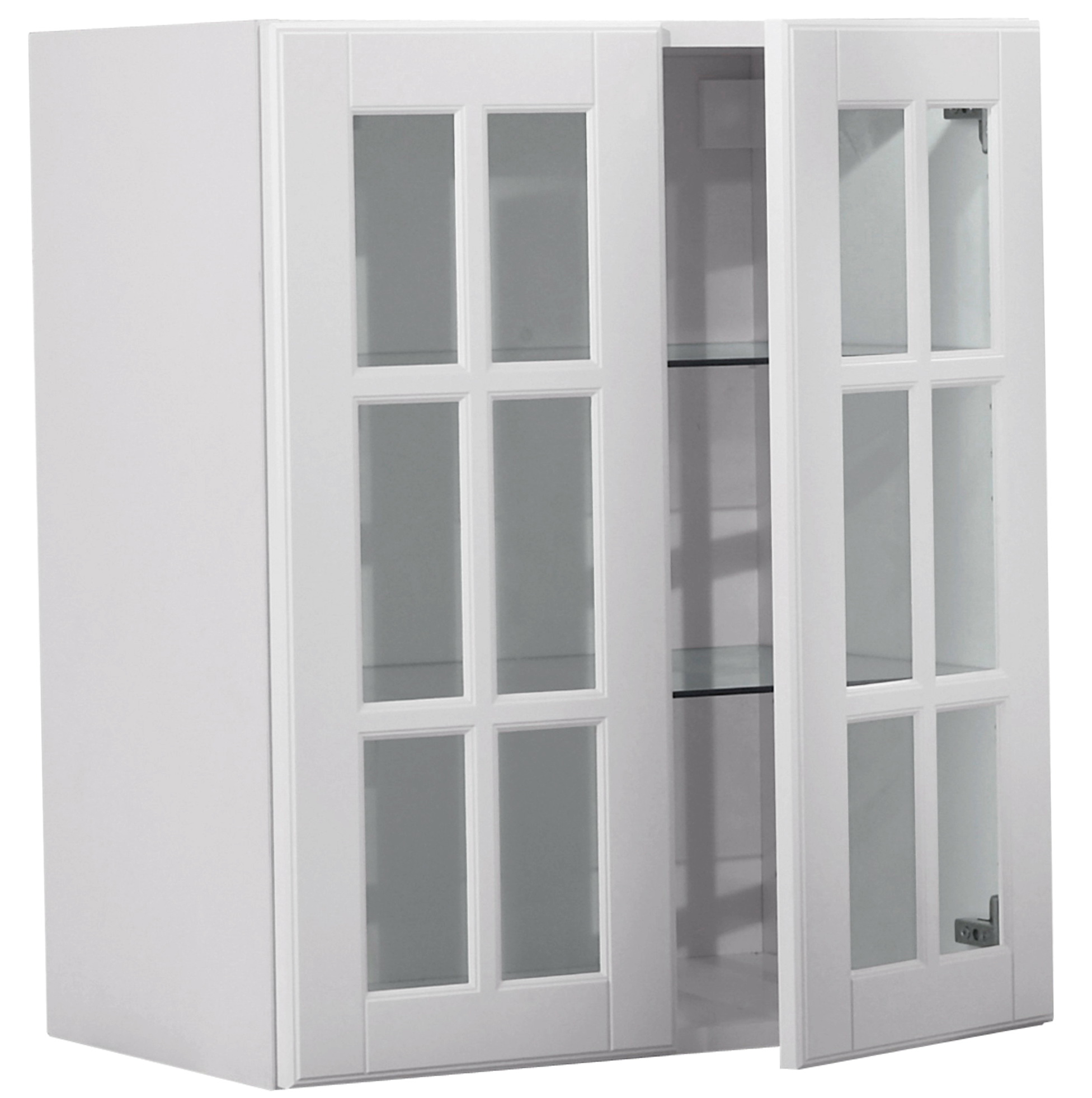 Ikea White Bookcase With Doors