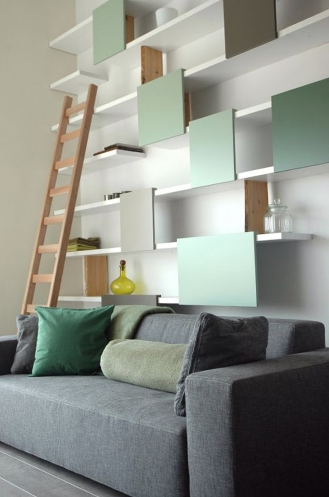 In Wall Shelves Design