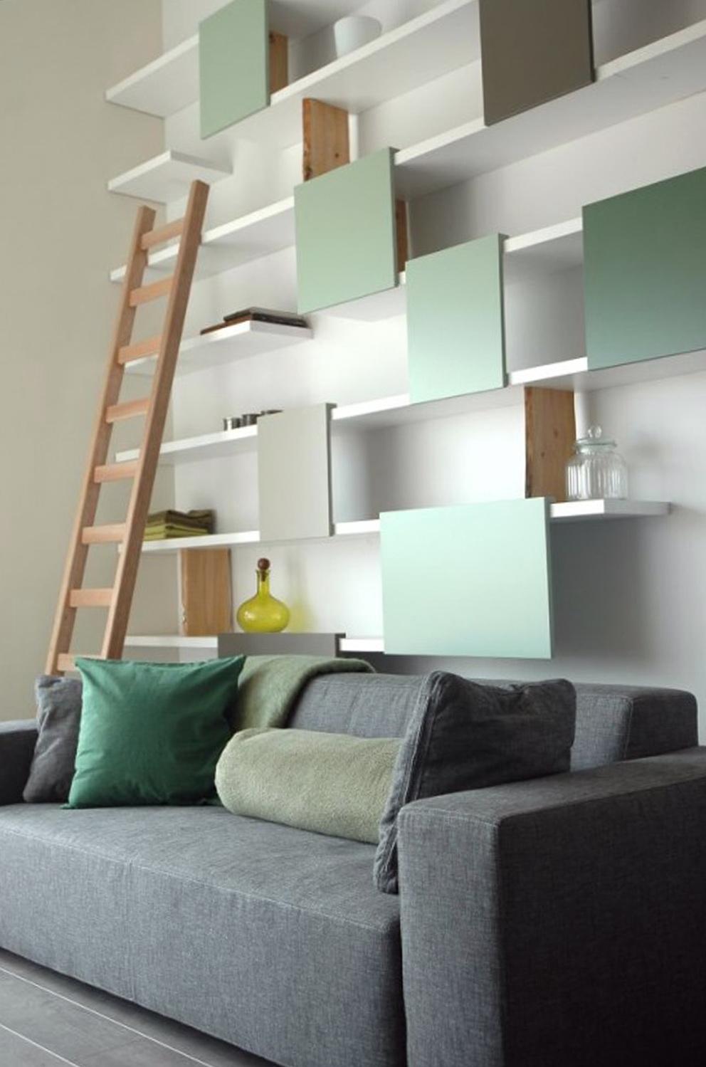 In Wall Shelves Design