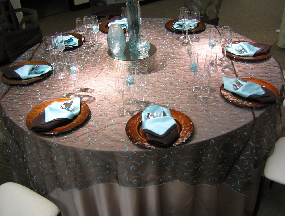 Indian Wedding Table Linens