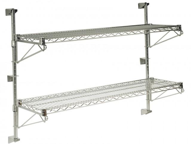 Industrial Metal Wall Shelves