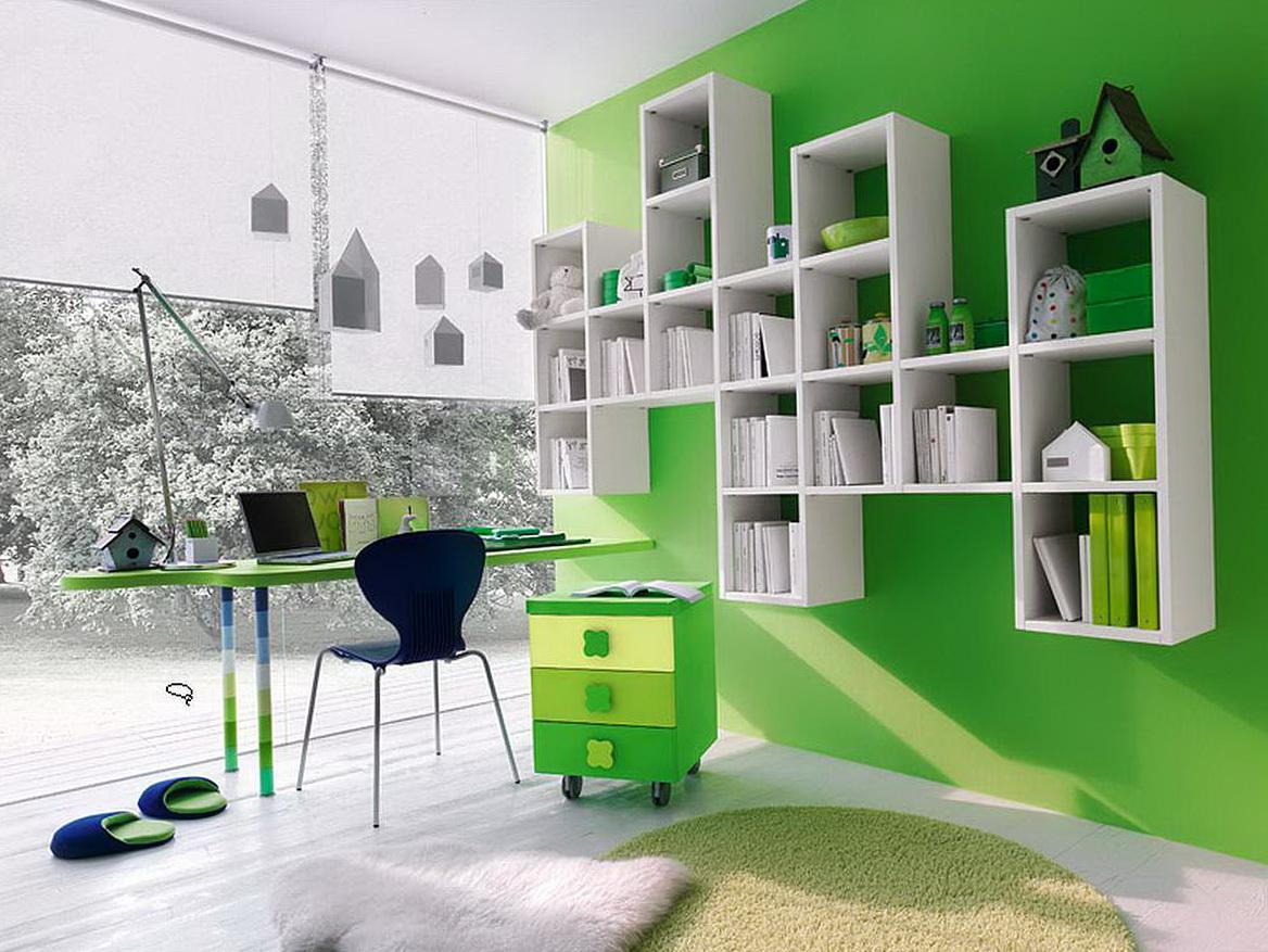 Kids Wall Shelves Bedrooms