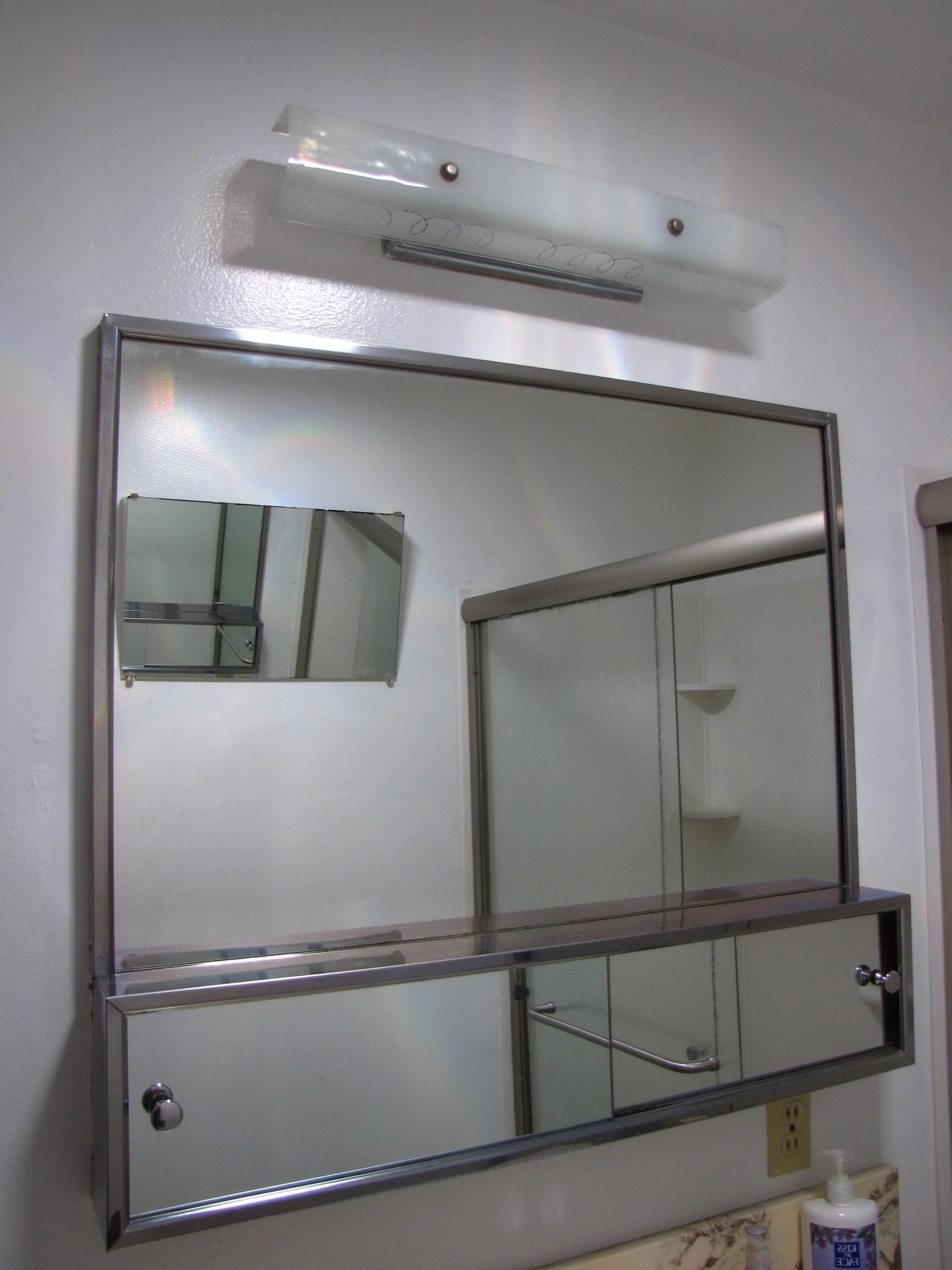 Large Medicine Cabinet Mirror