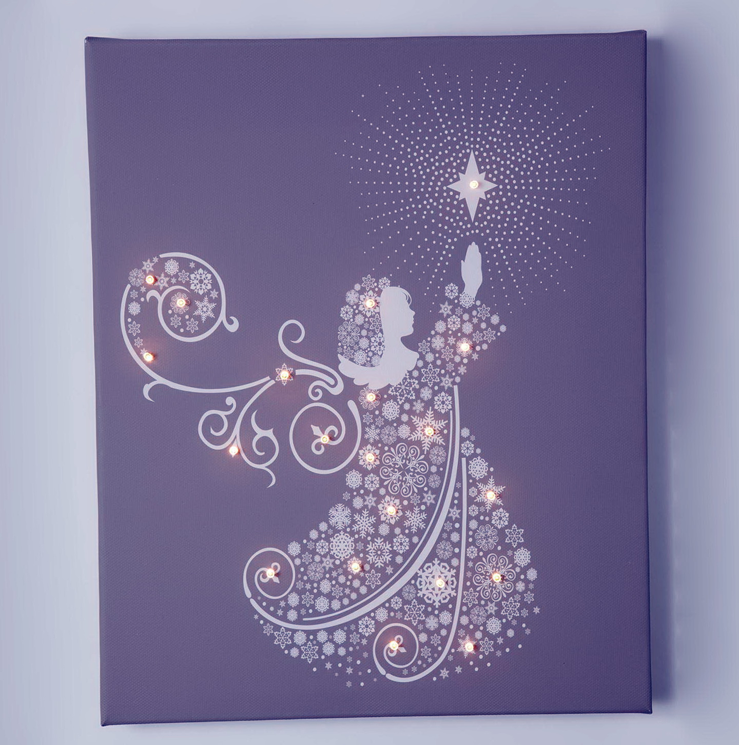 Led Wall Art Christmas