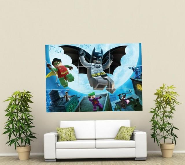 Lego Batman Wall Art