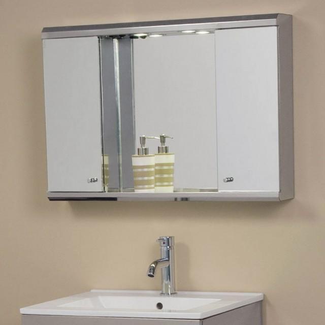Lighted Medicine Cabinet Mirror