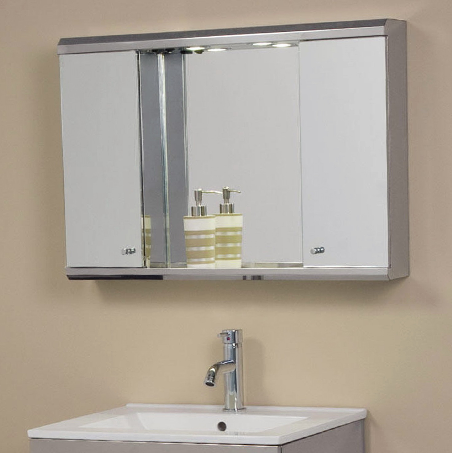 Lighted Medicine Cabinet Mirror