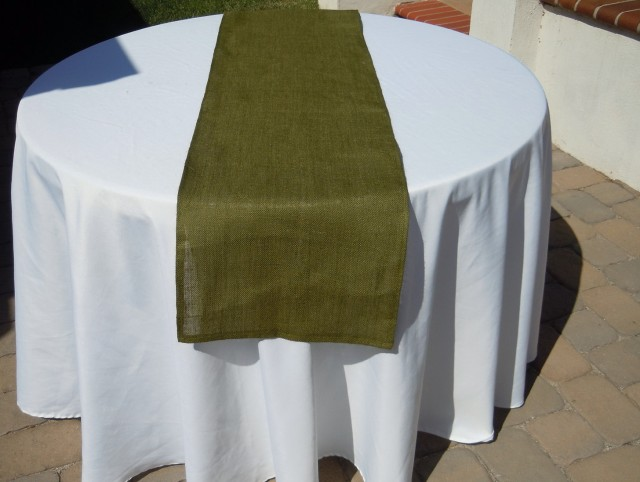 Linen Table Runners Wedding