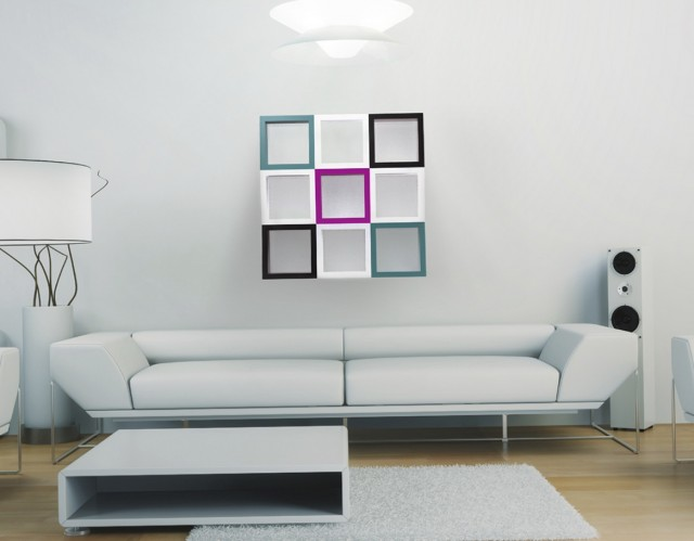 Living Room Wall Shelving Systems