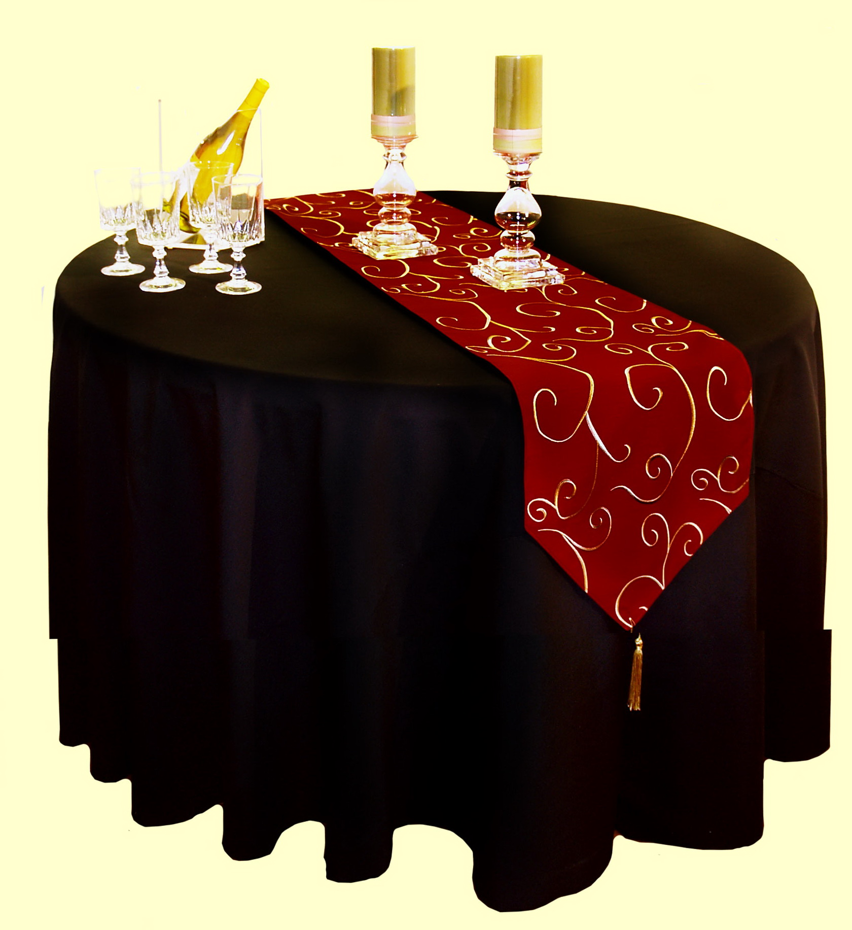 Luxury Christmas Table Linens