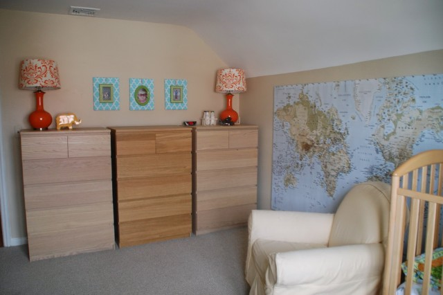Malm Dresser Changing Table