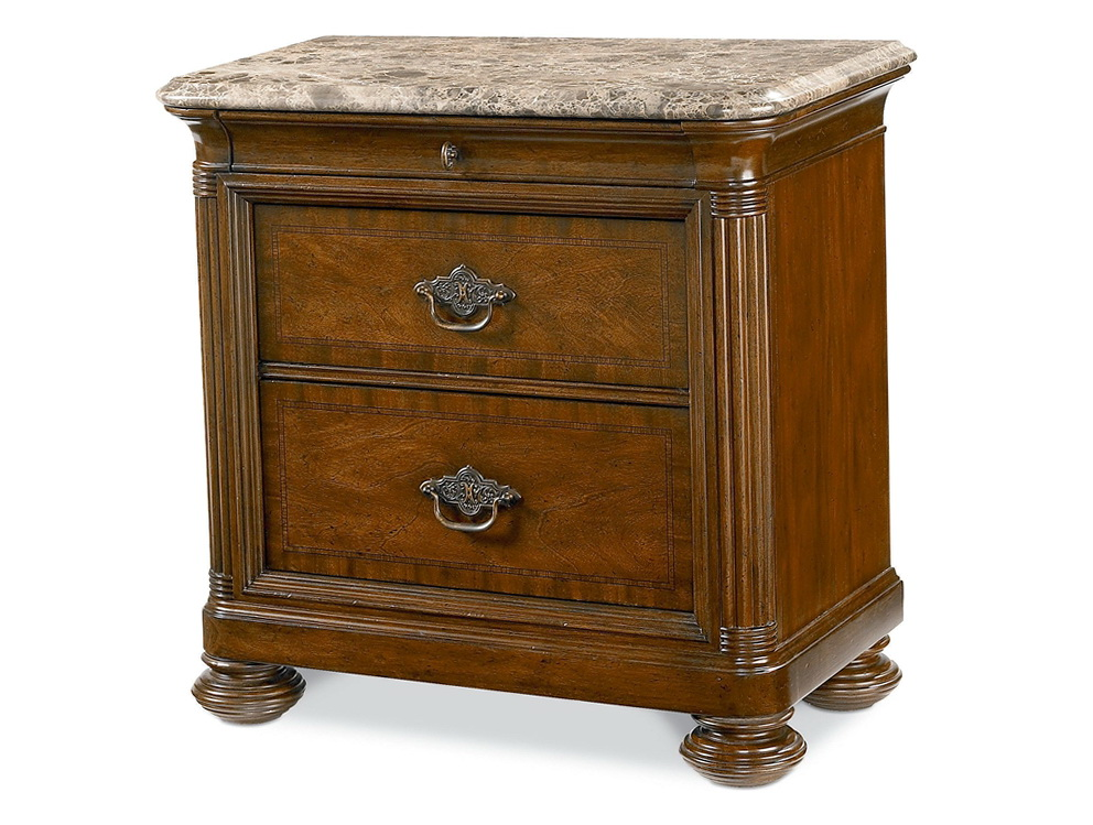 Marble Top Nightstands Bedroom