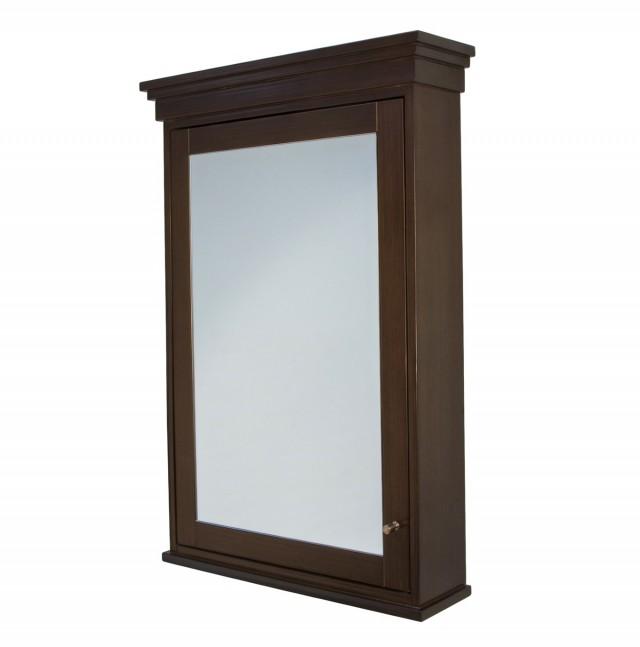 Medicine Cabinet Mirror Wood Frame