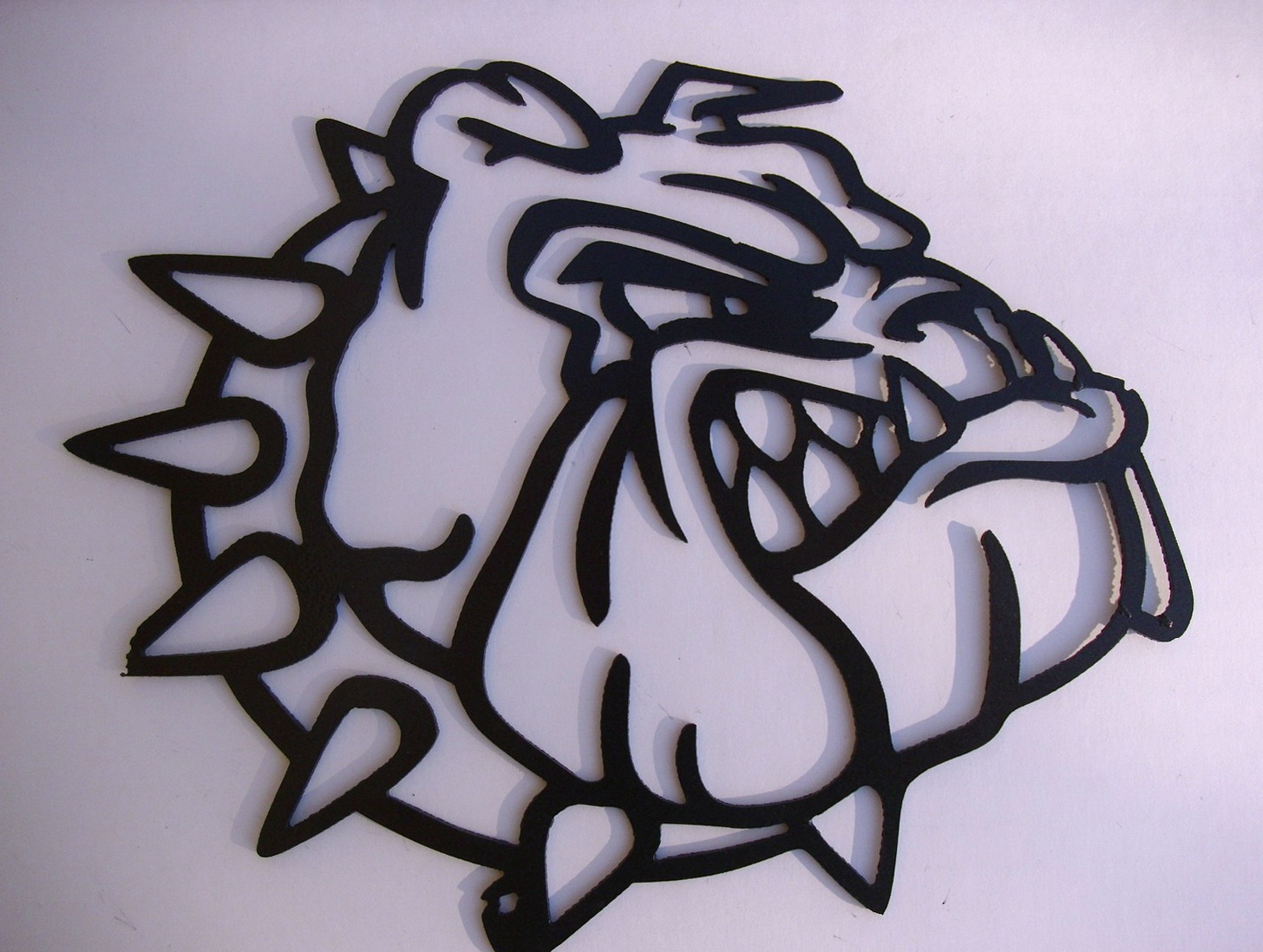 Metal Dog Wall Art
