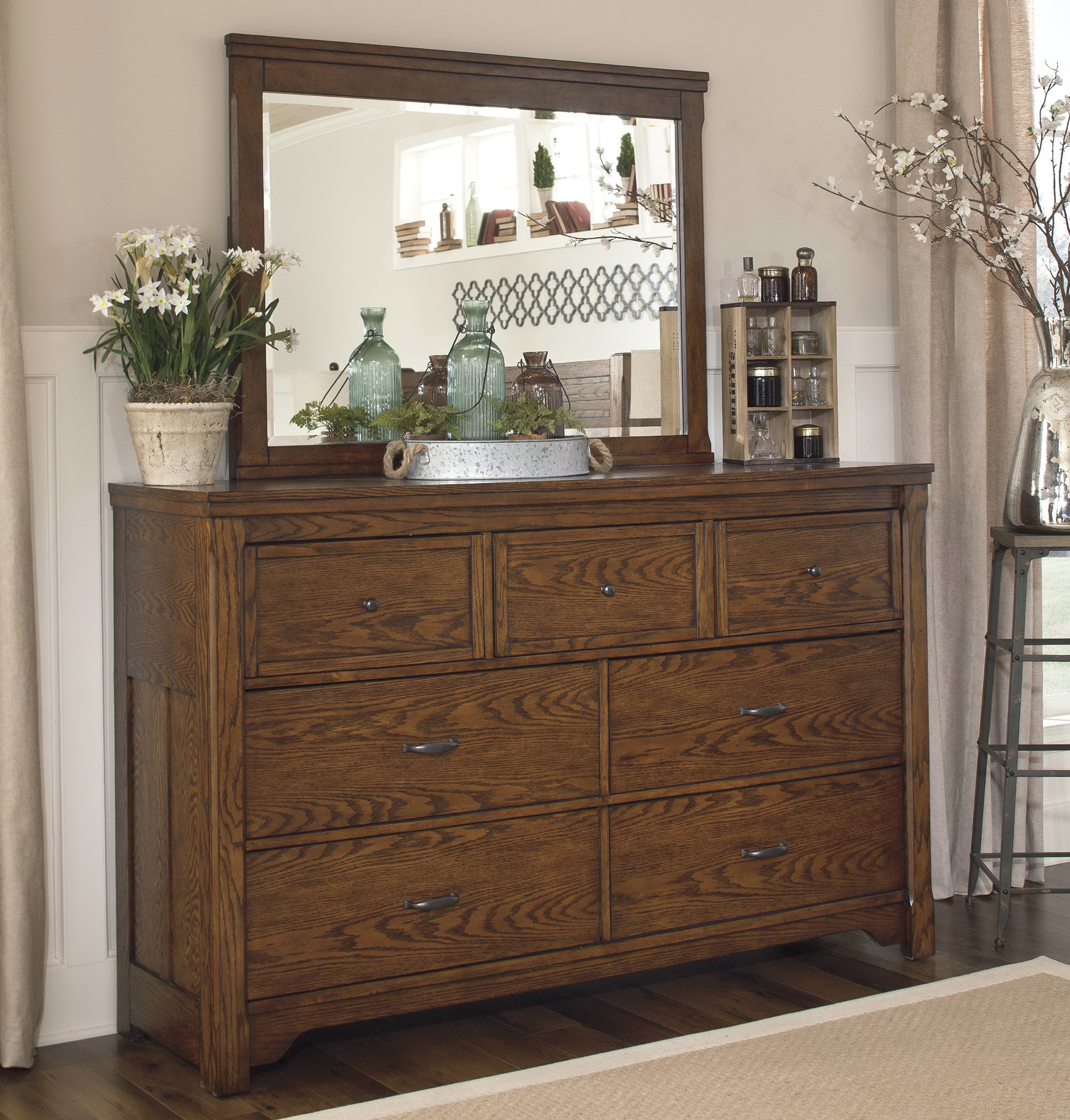 Mission Style Dresser Furniture