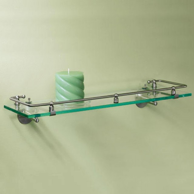 Modern Glass Wall Shelves