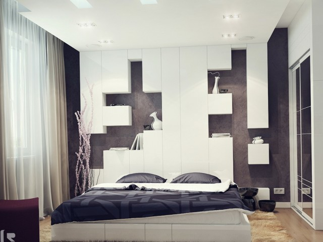 Modern Wall Shelves Bedroom