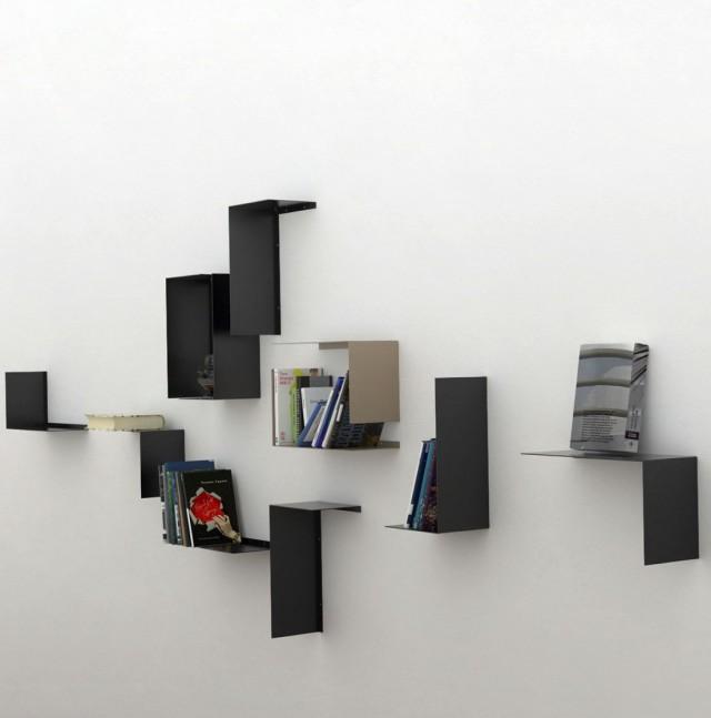 Modern Wall Shelves Decorating Ideas