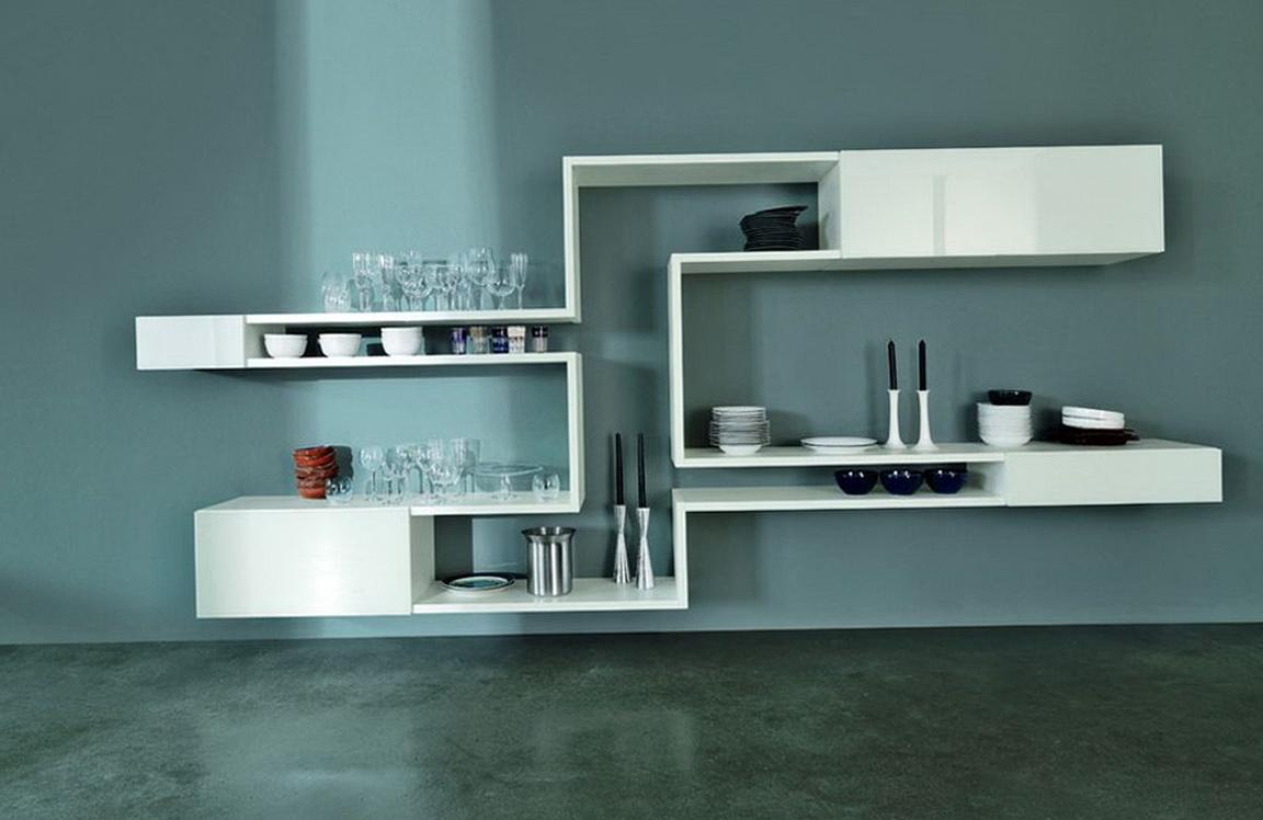 Modern Wall Shelves Design