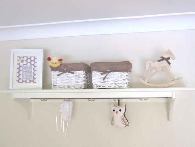 Nursery Wall Shelves For Books