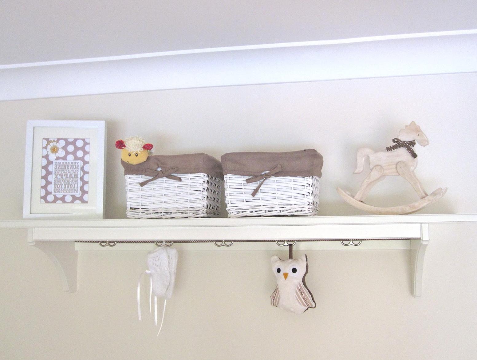 Nursery Wall Shelves For Books