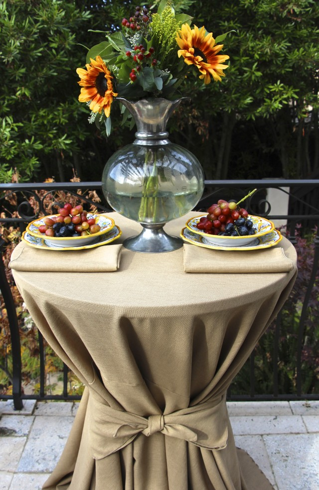 Premier Table Linens Burlap