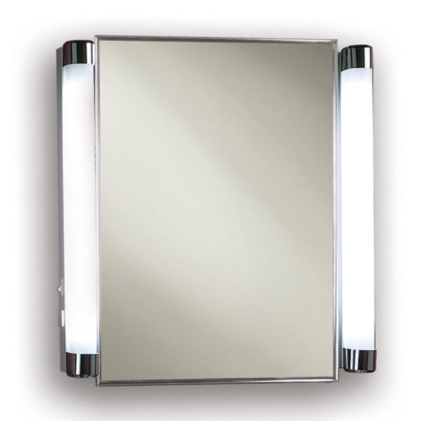Recessed Mirrored Medicine Cabinet