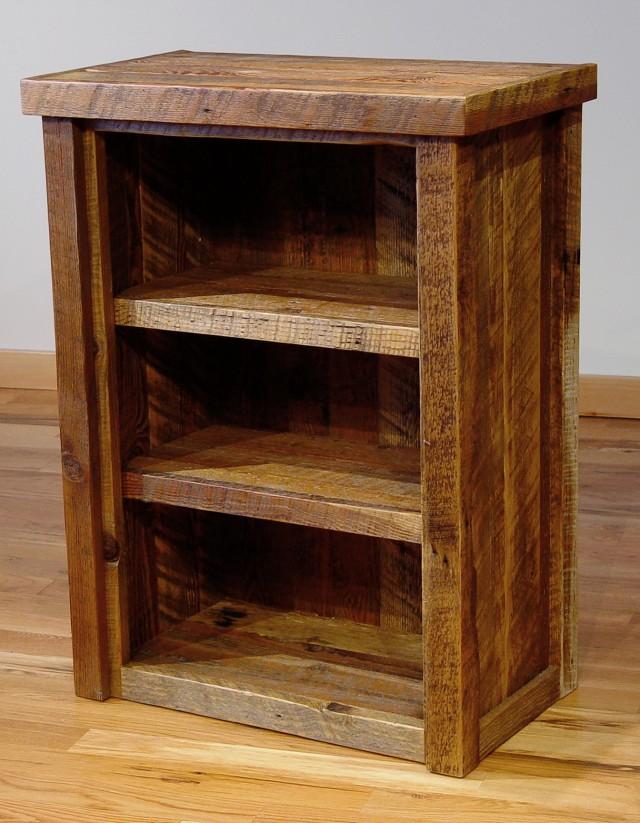 Reclaimed Wood Bookcase Diy