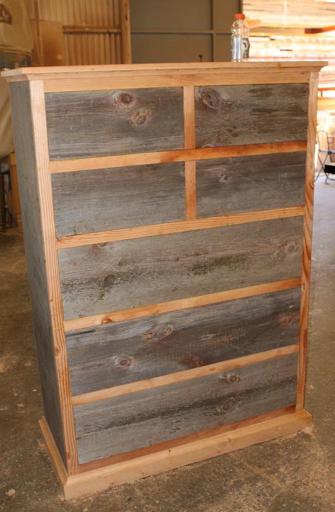 Reclaimed Wood Dresser Los Angeles