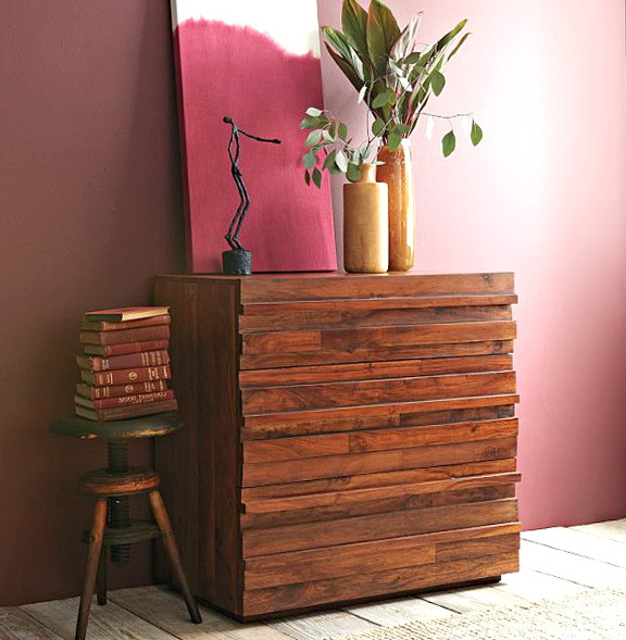 Reclaimed Wood Dresser Modern
