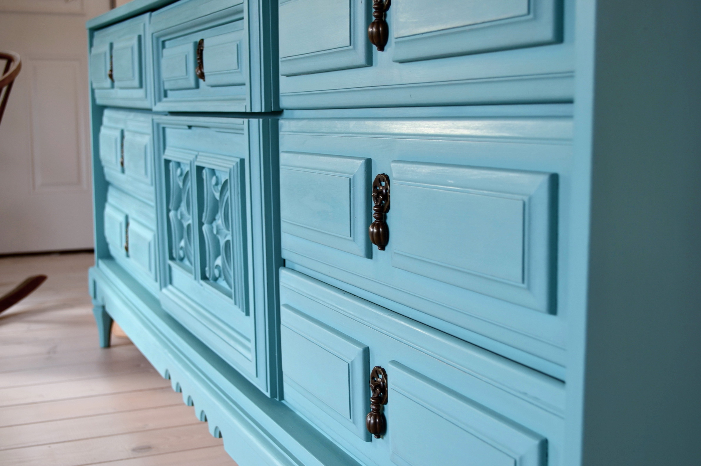Refinishing A Dresser Without Sanding