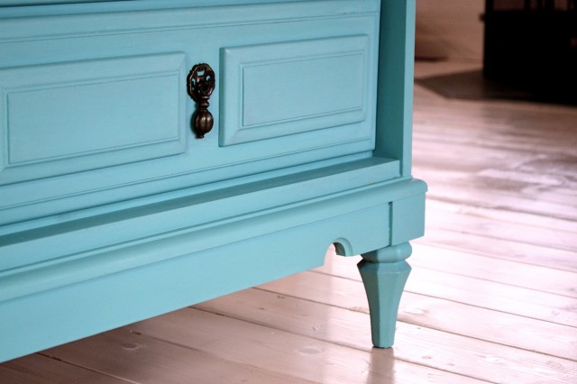 Refinishing A Dresser Without Stripping