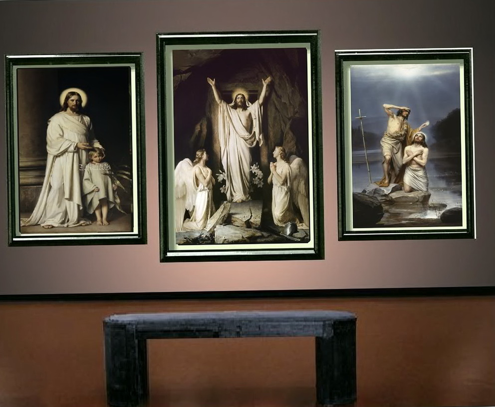 Religious Wall Art Canvas