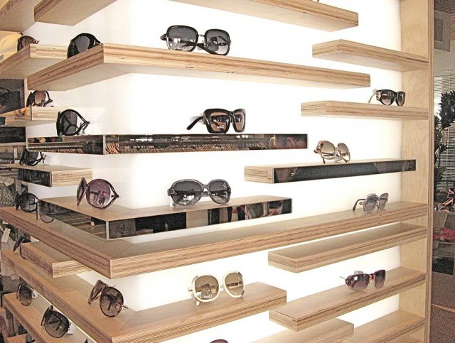 Retail Wall Display Shelves