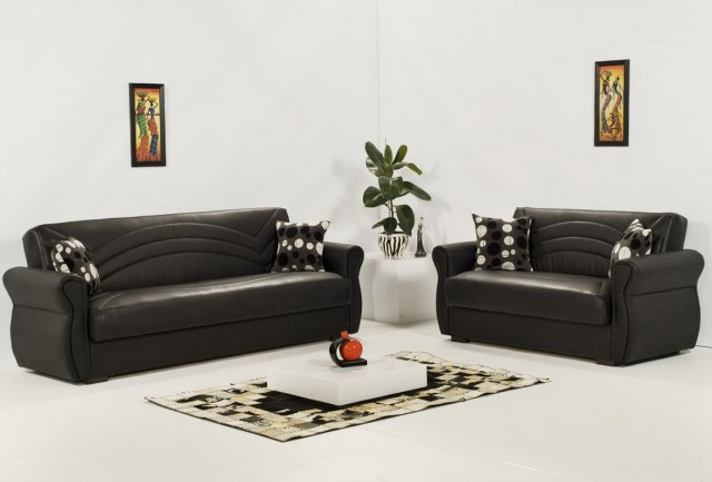 Sectional Sofa And Loveseat Set