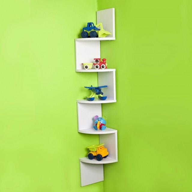 Shelves For Wall Corner