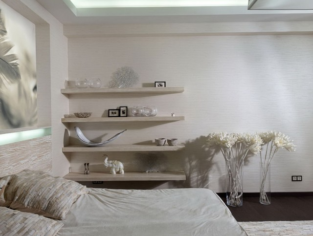 Shelves On Wall Bedroom